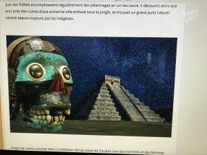 les puits sacrés des mayas