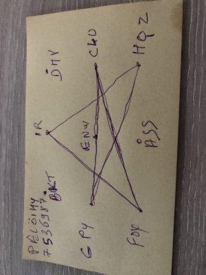 pentagramme de Maurice Lemonnier