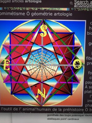rythme circadien Ö pentagramme zénithal
