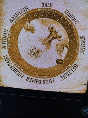 Yule imbolc géométrie pythagore Ö vénus Celtique