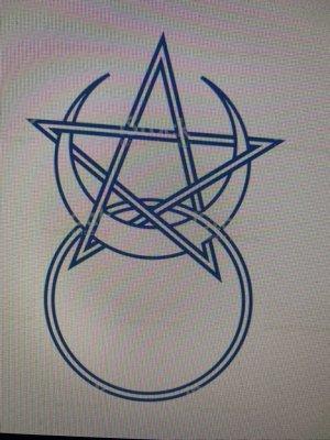 Ö ËÄÜ du montre de plastiques Ö vie du pentagramme