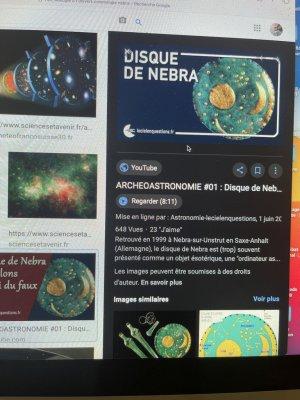 l'archéologie Ä l'univers cosmologie Nebra