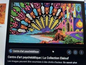 Galerie Robert Galgoczi psychédelique Pontorson