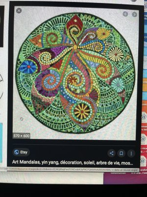 arts psychedelique peace-and-love Ö cosmos ankh