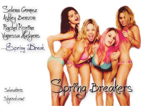 Le tournage de Spring Breakers est fini !