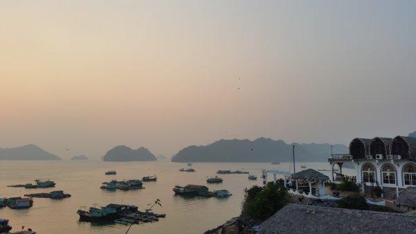 Vietnam Vue de l'hotel:)