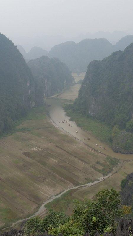 Vietnam Baie d'halong terrestre