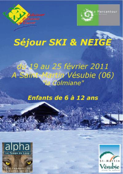 CAMP DE SKI 2011