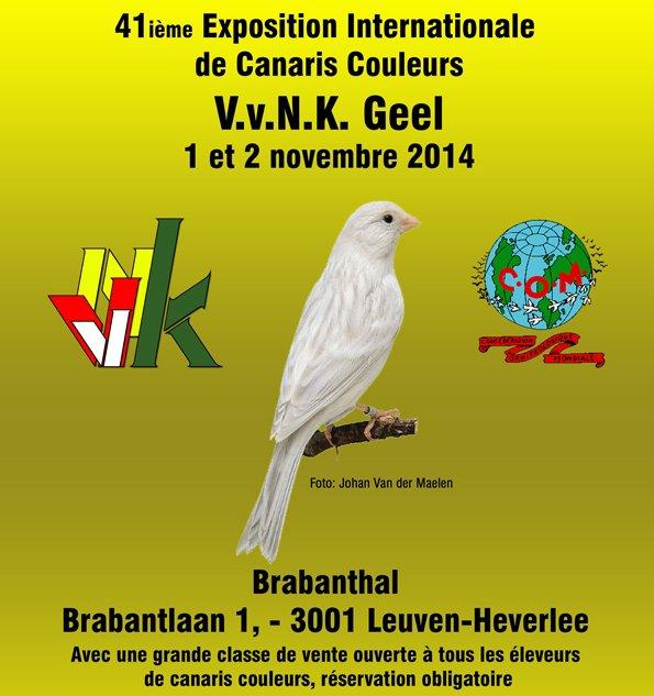 Résultats Concours COM Leuven 2014
