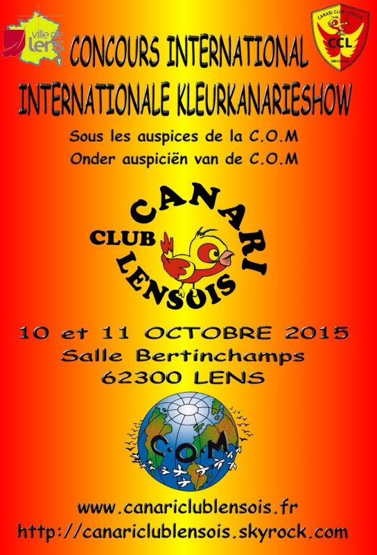 Résultats concours international de Lens COM