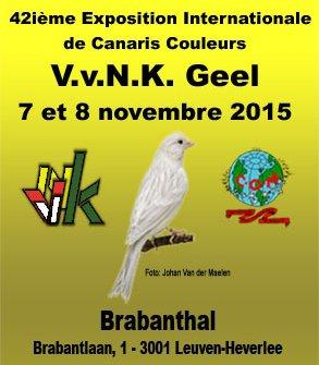 Résultats du Concours international du VvNK de Geel à Leuven