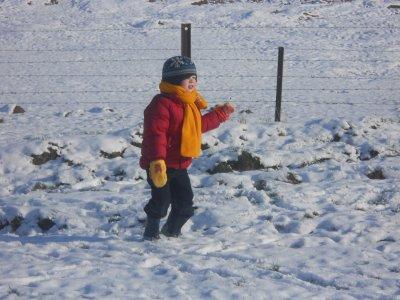 un après midi sous le signe de la neige