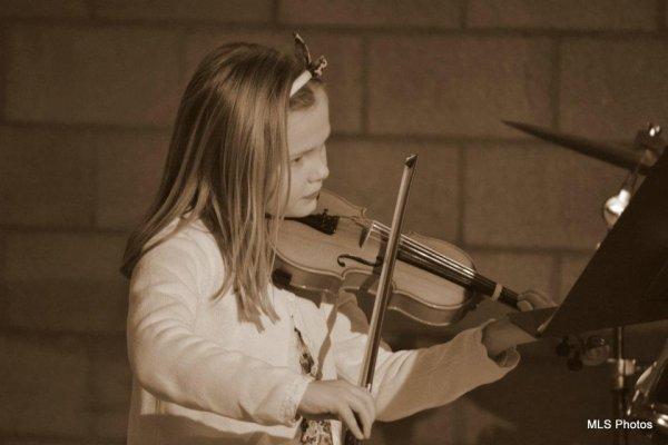 ma chérie et son violon