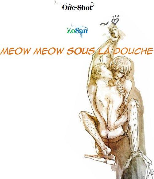 Meow Meow - Sous la douche