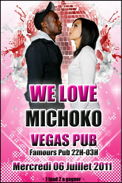 we love Michoko Mercredi 6 Juillet @ Vegas Pub