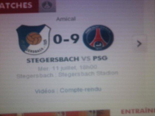 STEGERSBACH VS PSG
