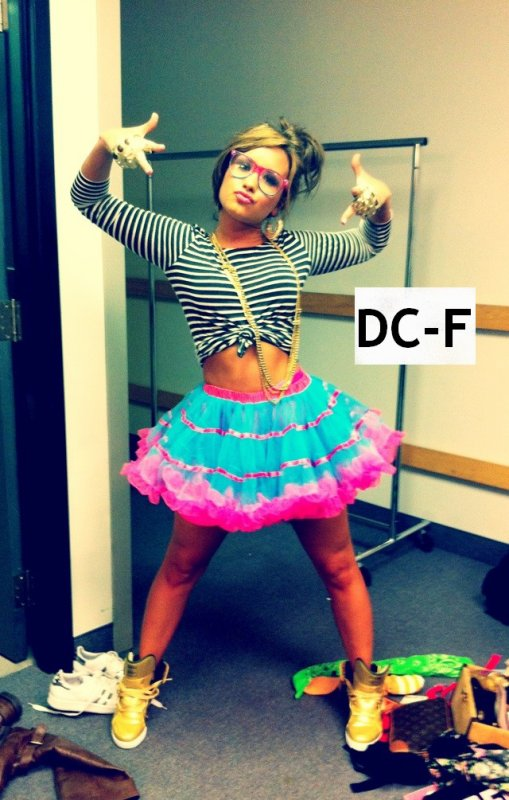 DEMI TROP FASHION ! ;D