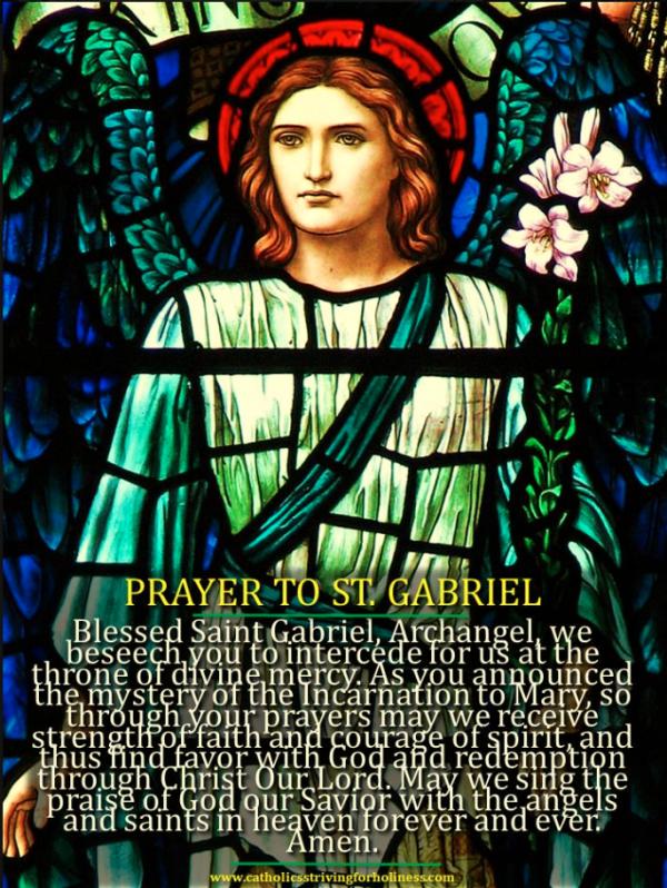 St. Gabriel.