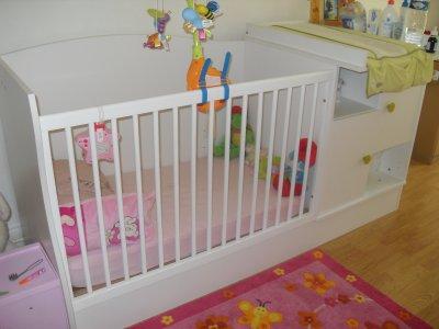 Le lit d'Olivia !!!