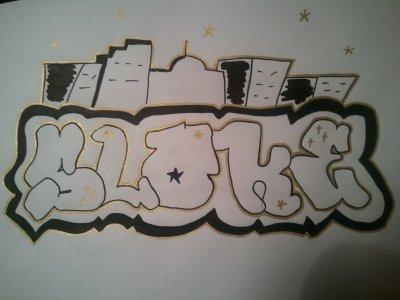 Mon premier graff