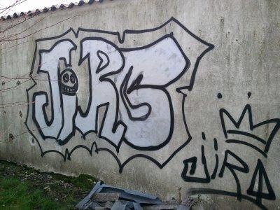 Graff realiser avec mes bombes
