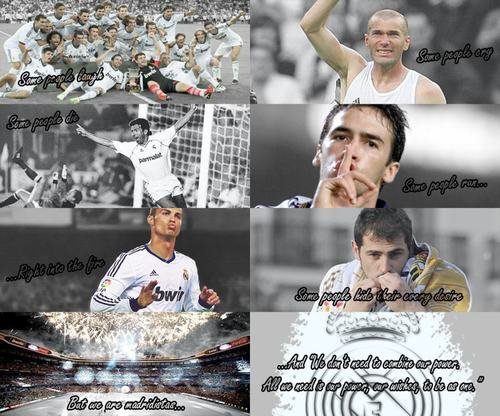 """We are Real Madrid, the champion of champions.""Jose Mourinho"
