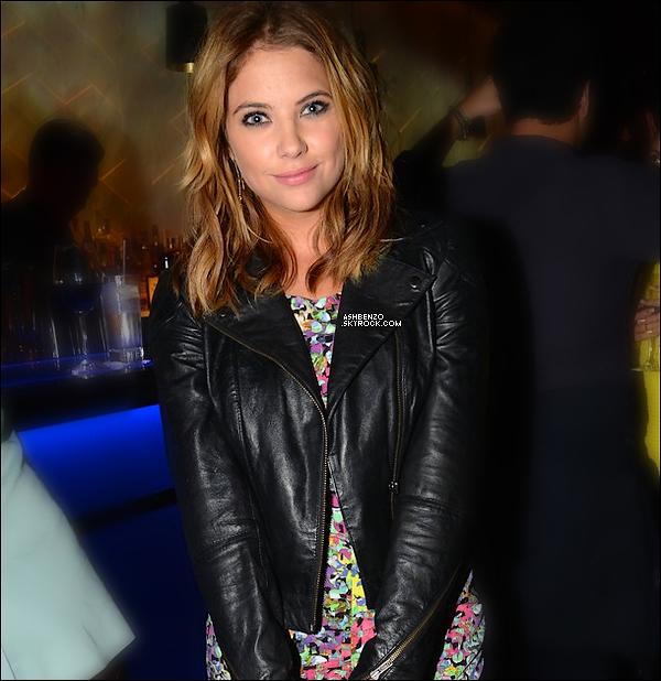 ♣ 19 Septembre 2013: Mlle Benson a été aperçut se rendant au restaurant Hakkasan, à Los Angeles. Vêtue d'une combie fleurie, d'une veste en cuir noire + sac à main de la même matière. Top/Flop? (+photos instagram)
