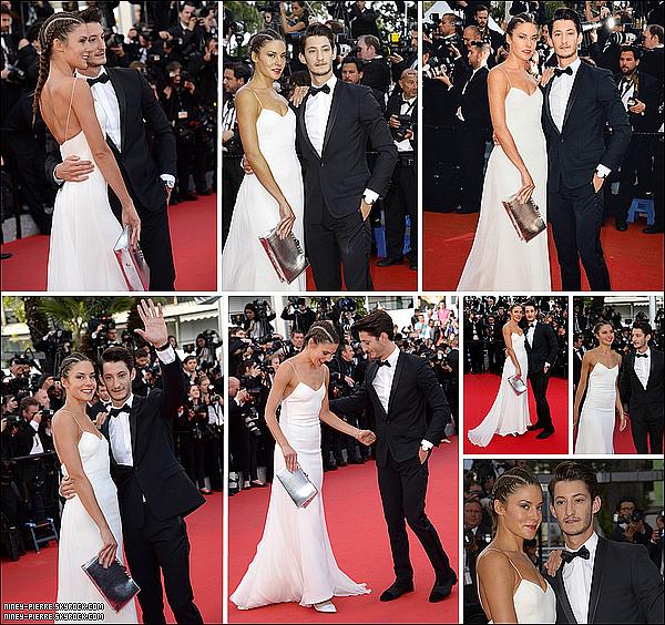 ► Pierre Niney et sa copine (Natasha Andrews) étaient au festival de cannes 2014