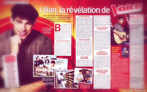 Lilian, la révélation de The Voice déjà en couverture d'un télé crochet.