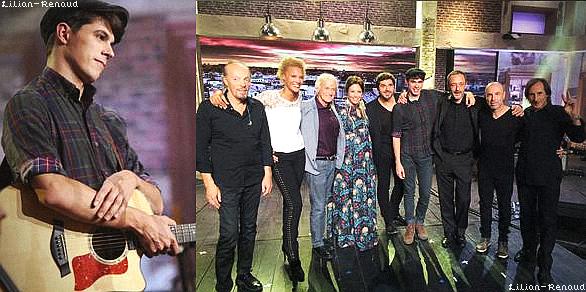 """CANDIDS :  Lilian était convié à l'émission """"Du côté de chez Dave"""" sur France à 16h15 le 25/10/2015."""