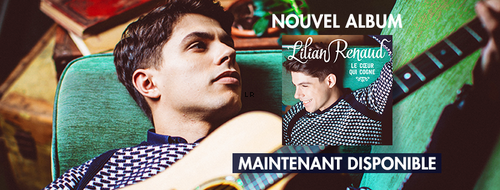 Nouvel allbum dès maintenant disponible !