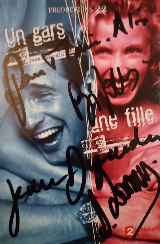 Jean Dujardin & Alexandra Lamy