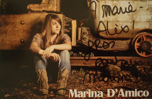 Marina D'amico (finaliste X-factor)