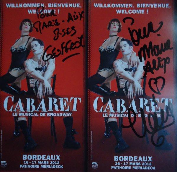 Cabaret - Claire Pérot & Geoffroy Guerrier