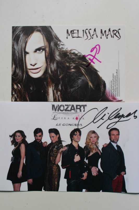 Mikelangelo Lonconte & Mélissa Mars - Mozart L'Opéra Rock