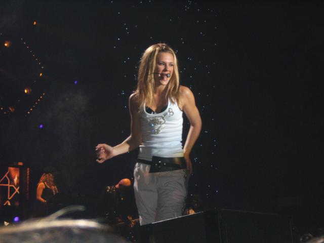 Lorie en concert!!!