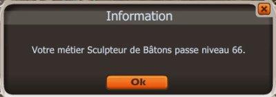 -- Sculpteur de baton lvl66 --