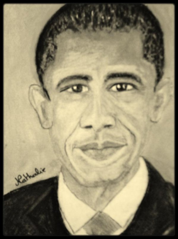 Portrait de  Barack OBAMA !