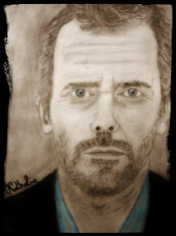 Portrait Hugh Laurie   !