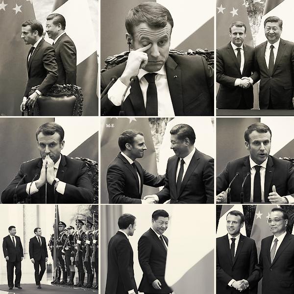 → 09 janvier 2018 : Le président Français, Emmanuel MACRON était de visite en Chine.