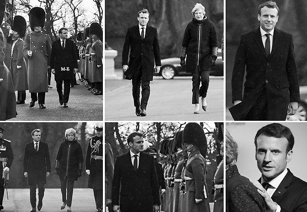 → 18 janvier 2018 : Le président Français, Emmanuel MACRON était de visite en Angleterre pour le 35e sommet franco-britannique.
