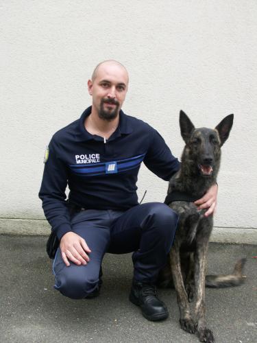 maitre chien de police municipale