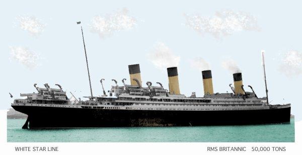 Le RMS Britannic