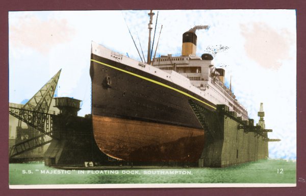Le RMS Majestic