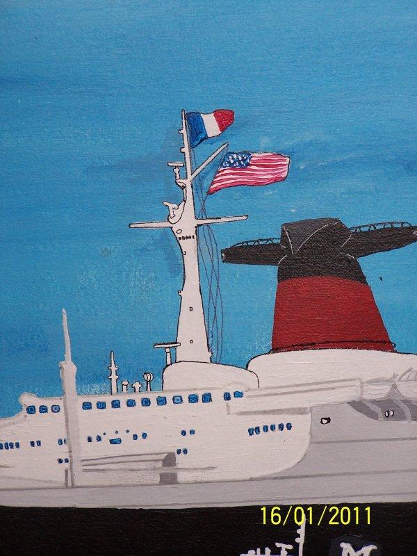 Bonjour à tous je suis heureux  de vous présenté une nouvelle mis à jours de la peinture du France