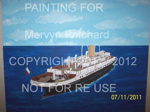 Nouvelle mis à jour peinture Mervyn Pritchard / New update for painting Mervyn Pritchard