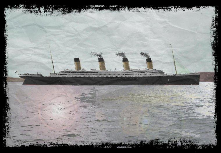 Cette magnifique photo du Titanic