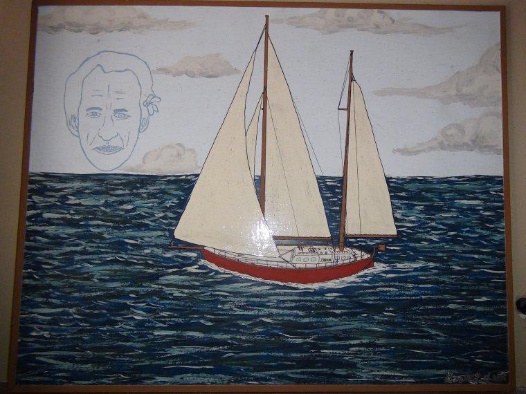 Une encienne peinture que j'ai faite il y a quelques années....