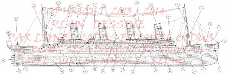 Une nouvelle mise à jour sur le travaille de mon frère et moi sur le Titanic et ses frères.  A new update on the work of my brother and me on the Titanic and his brothers.