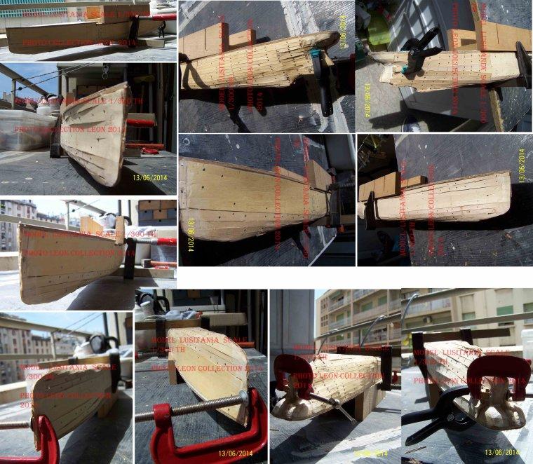 Nouvelle mis à jour de mon modèle Lusitania